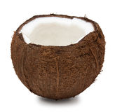 Coconut isolated on white Stock Photography