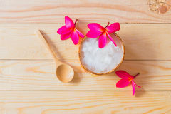 Coconut jelly Stock Image
