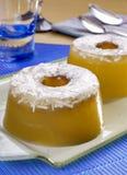 Coconut jelly dessert Royalty Free Stock Photos