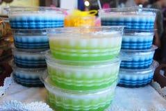 Coconut jelly Royalty Free Stock Photos