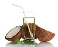 Coconut juice Stock Photo