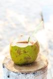 Coconut juice Stock Photos