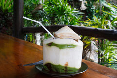 Coconut juice Royalty Free Stock Images