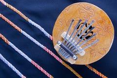 Coconut Kalimba Thumb Piano Royalty Free Stock Image