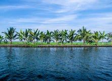 Free Coconut Lagoon At Vembanad Lake, Kerala, India Stock Image - 153491001