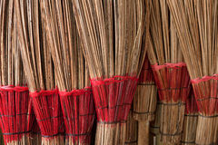 Coconut Leaf Broom Royalty Free Stock Image