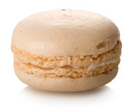 Coconut Macaron Isolated Royalty Free Stock Photography