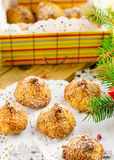 Coconut macaroon cookies Royalty Free Stock Photography