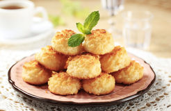 Free Coconut Macaroons Stock Photography - 15456632