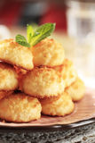 Coconut macaroons Stock Photography