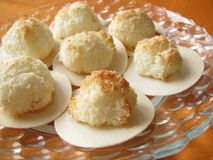Coconut macaroons Royalty Free Stock Photography