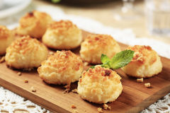 Coconut macaroons Royalty Free Stock Image