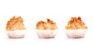 Coconut Macaroons Royalty Free Stock Photo