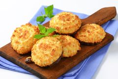 Coconut Macaroons Stock Image
