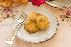 Coconut Macaroons Stock Photos