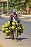 Coconut Man Royalty Free Stock Photography