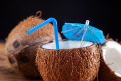 Coconut milk Stock Photography