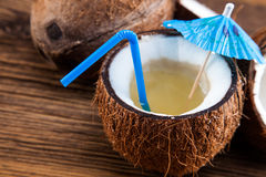 Coconut milk Royalty Free Stock Photos