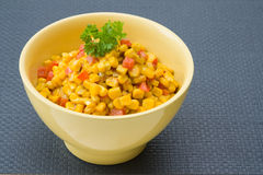 Coconut milk Corn Curry Royalty Free Stock Photo