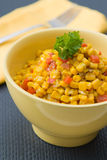 Coconut milk Corn Curry stock photo