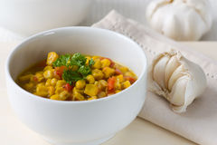 Coconut milk Corn Curry Royalty Free Stock Photography