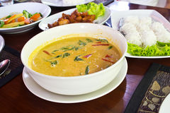 Coconut milk Curry Stock Images