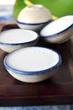 Coconut Milk Custard Thai Dessert Royalty Free Stock Photography