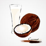 Coconut milk Stock Images