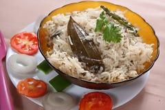 Coconut milk ghee rice, Thaingai pal nei sadam stock image