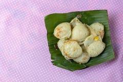 Coconut milk mix sugar and flour. - Thai sweetmeat Stock Photos