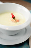 Coconut milk soup Royalty Free Stock Photos
