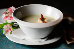 Coconut milk soup Stock Photos