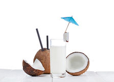 Coconut milk Stock Image