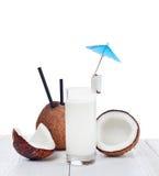 Coconut milk Stock Photo