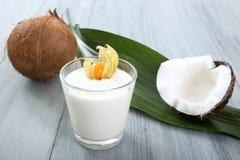 Coconut milkshake Royalty Free Stock Photography
