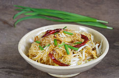 Coconut noodles Stock Photography