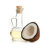 Coconut and oil Royalty Free Stock Image