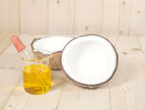 Coconut oil for alternative Stock Images