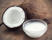 Coconut oil Royalty Free Stock Image