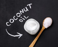 Coconut oil Stock Image