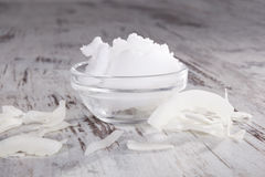 Coconut oil. Royalty Free Stock Image
