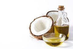 Coconut oil isolated stock photography