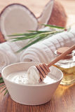 Coconut  oil Royalty Free Stock Images