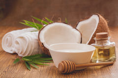 Coconut  oil Royalty Free Stock Photo