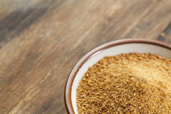 Coconut palm sugar Royalty Free Stock Photography