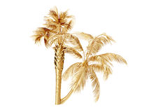 Free Coconut Palm Trees. 3D Rendering Stock Photos - 77669653