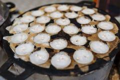 Coconut Pancake Stock Image