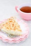 Coconut pie Stock Photography