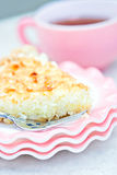 Coconut pie royalty free stock images
