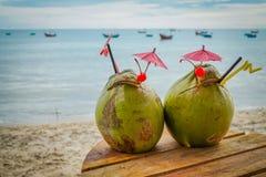 Coconut pina colada Stock Images